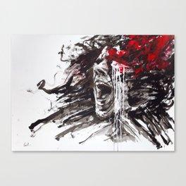 The Pain of Cluster Headache Canvas Print
