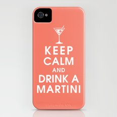 Keep Calm and Drink A Martini Slim Case iPhone (4, 4s)