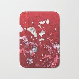 Red Chips Bath Mat