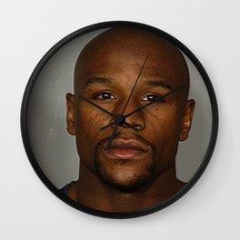 "Floyd ""Money"" Mayweather Mug Shot Wall Clock"
