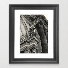 Berliner Dom Angel Framed Art Print