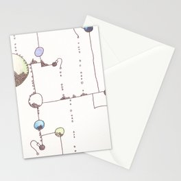Lollipop Land 4 Stationery Cards