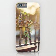 Bokeh and Fleur de Lis Slim Case iPhone 6s