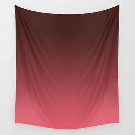 Black-red Ombre Wall Tapestry