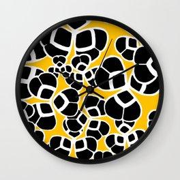 "Koloman (Kolo) Moser ""Textile pattern (Cloverleaf / Shamrock)"" (2) Wall Clock"