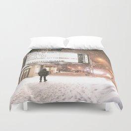 New York City Snow Duvet Cover