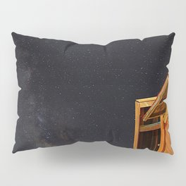 Smangus Tribe Under Milky Way.(Taiwan's most remote tribe) Pillow Sham