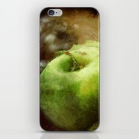 apple iPhone & iPod Skins featuring Apple  by Bella Blue Photography