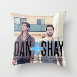 DAN + SHAY ARENA TOUR DATES 2020 BAUKENCUR Throw Pillow