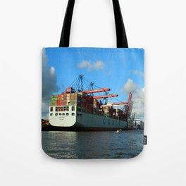 Cosco Cotainer Ship Tote Bag