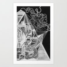 Structures Art Print