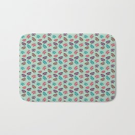 Retro Phones Bath Mat