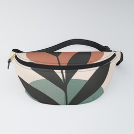 Abstract Art Tropical Leaf 16 Fanny Pack