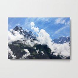 The Jungfrau Metal Print