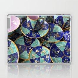 Wedgwood majolica Fan pattern Laptop & iPad Skin