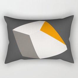 Broken Cube Rectangular Pillow