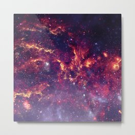 Star Field in Deep Space Metal Print