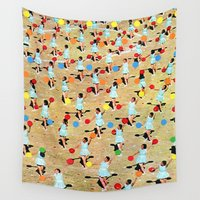 dance Wall Tapestries featuring DANCE by Ben Giles