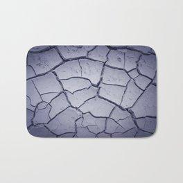 cracked land Bath Mat