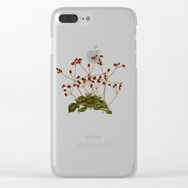 Magical flora #5 Clear iPhone Case