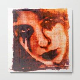 Lost Love Dye Art Print Metal Print