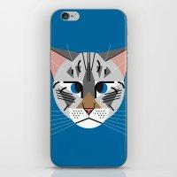calvin iPhone & iPod Skins featuring Calvin Harper by Hattie Stroud