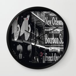 New Orleans and Marilyn Wall Clock