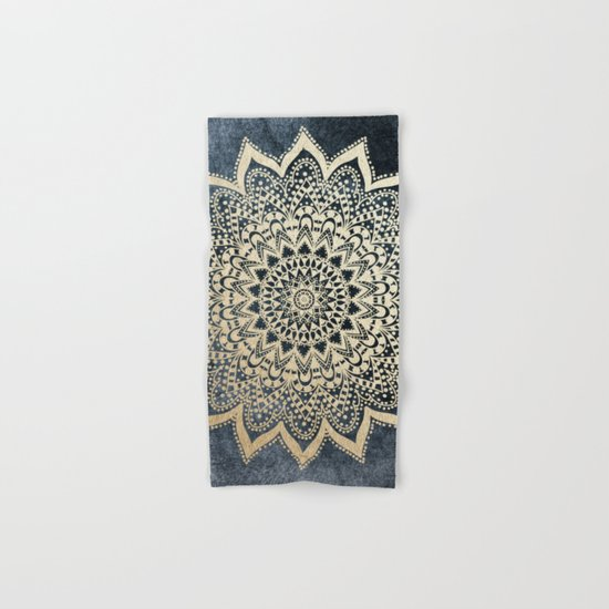 BOHO NIGHTS MANDALA Hand & Bath Towel