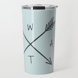 WHAT Compass? Travel Mug