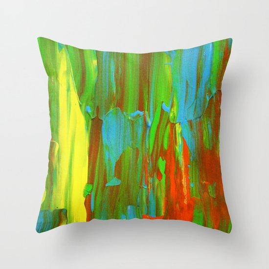 Abstract Painting 28 Throw Pillow