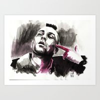 taxi driver Art Prints featuring Taxi Driver by Juan Pablo Cortes