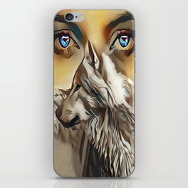 Spirit Of The Wolf iPhone Skin