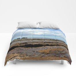 Low tide - Wollongong, Australia Comforters