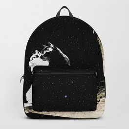 Moon and cats Backpack