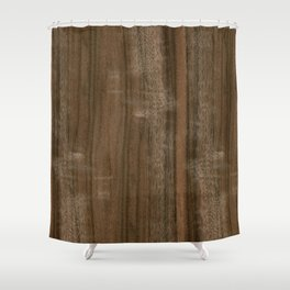 Australian Walnut Wood Shower Curtain
