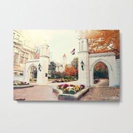 Indiana University Bloomington Sample Gates Metal Print