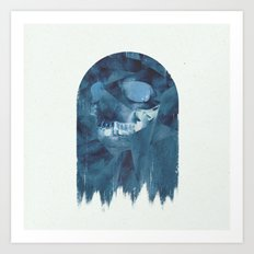 ManPac square 4 Art Print