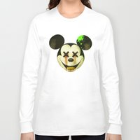 mickey Long Sleeve T-shirts featuring Mickey by wrong planet