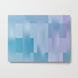 Global Dither Abstract Metal Print