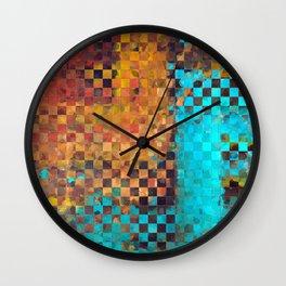 Abstract Modern Art - Pieces 1 - Sharon Cummings Wall Clock