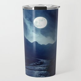 Walk to the Moon Travel Mug