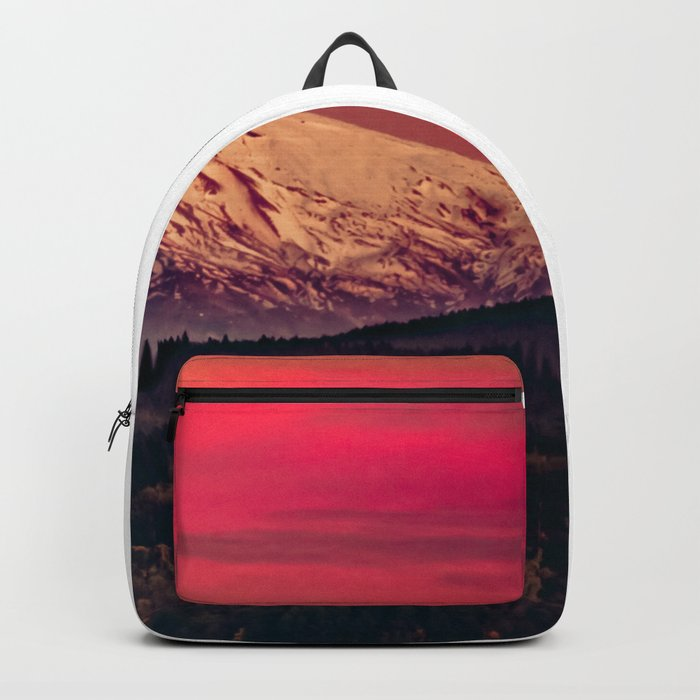 Snowy Mountain Compass Backpack