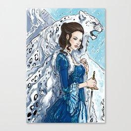 irbis & dagger Canvas Print