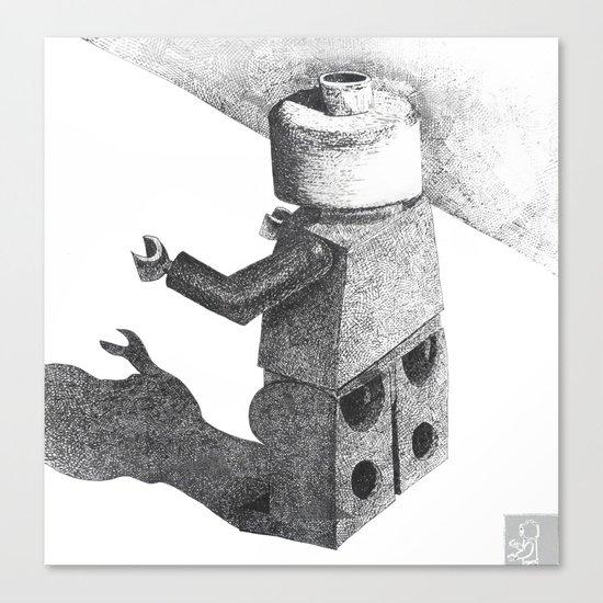 So Long Legoman Canvas Print