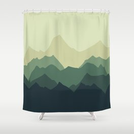 More Mountains please Shower Curtain
