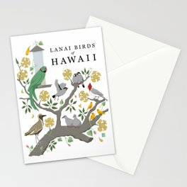 Lanai Birds of Hawaii Stationery Cards