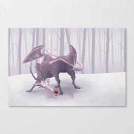 Winter Wraith Canvas Print