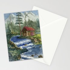 Peaceful Cabin Stationery Cards