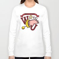 wreck it ralph Long Sleeve T-shirts featuring Wreck-It Ralph: Wreck-It University by Macaluso