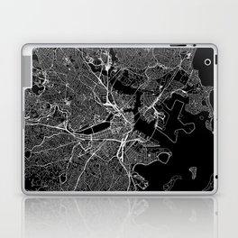 Boston Black Map Laptop & iPad Skin